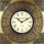 Brass Metal Clocks