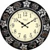 Wellgain VM-MQ-405 Hand Carved Mosaque Clock with One Year Warranty Made in India